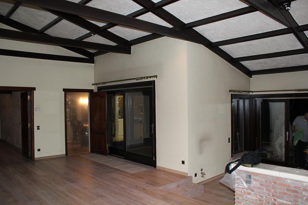 Donker Eiken Keuken Verven : Marty Van Kerckhove Living schilderen, renoveren of beide?